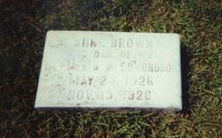Anne Brown Edmondson