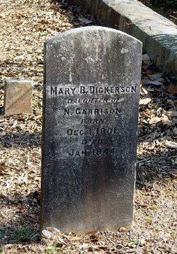 Mary B. <i>Garrison</i> Dickerson
