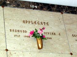 Raymond Walter Ray Applegate