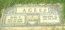 Burl F. Agee