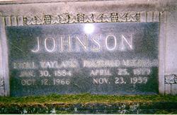 Ethel May <i>Wayland</i> Johnson