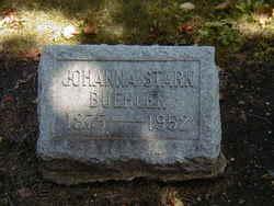 Johanna <i>Stark</i> Buehler