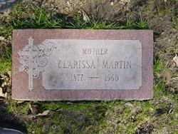 Clarissa (Clara) M. <i>Newton</i> Martin
