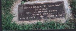 Donaldson Sanday