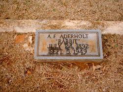 Ansel F. Rabbit Aderholt