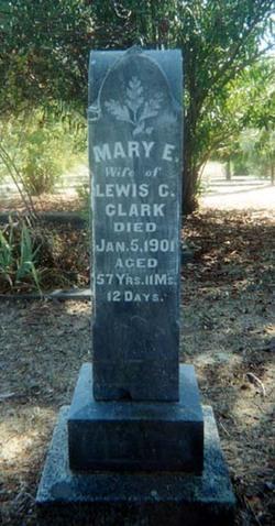 Mary Elice <i>Wyman</i> Clark