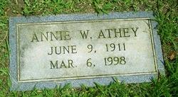 Annie <i>Wright</i> Athey