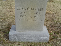 Eliza Ann <i>Branaman</i> Chasteen