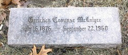 Gretchen <i>Crounse</i> McIntyre