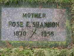 Rose Elizabeth <i>Chambers</i> Shannon