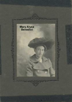Mary <i>Alyea</i> Benedict