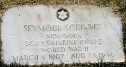 Sgt Seymour Cy Schindell