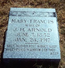 Mary Francis <i>Webb</i> Arnold