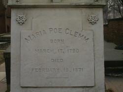 Maria Muddy <i>Poe</i> Clemm