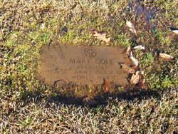 Arkansas Army Nurse Mary Cole