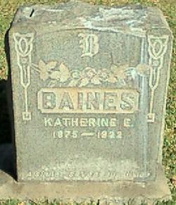 Katherine E. Baines