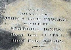 Mary <i>Howard</i> Jones
