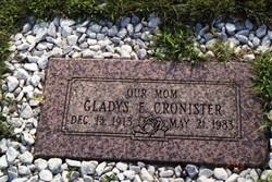 Gladys Ellen <i>Moore</i> Cronister