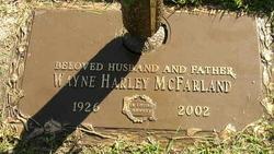 Wayne Harley Mac McFarland