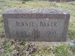 Jennie <i>Malicoat</i> Baker