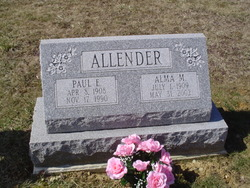 Alma M. <i>Carmitchel</i> Allender