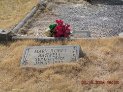 Mary <i>Robey</i> Bagwell