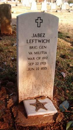 Jabez Leftwich