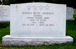 Gen Harold K. Johnson