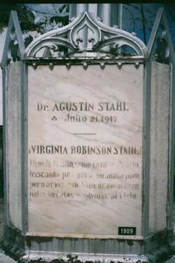 Dr Agust�n Stahl