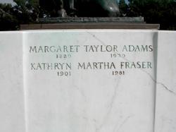 Margaret Taylor Adams