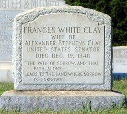 Frances <i>White</i> Clay