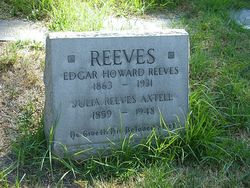 Julia <i>Reeves</i> Axtell