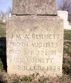 Jane E <i>Holland</i> Burnett