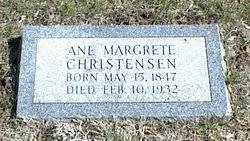 Ane Margrete <i>Petersen</i> Christensen