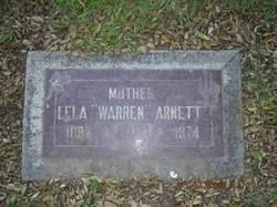Lela Angelina <i>Warren</i> Arnett