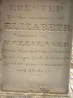 Elizabeth <i>Harris</i> Clevenger