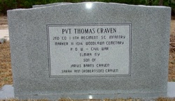 Pvt Thomas Craven