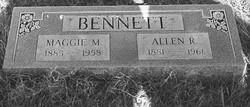 Maude Maggie <i>Reeves</i> Bennett