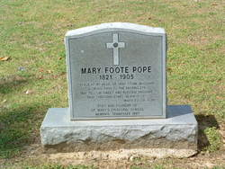 Mary Elizabeth <i>Foote</i> Pope