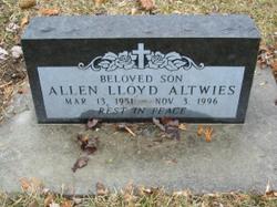 Allen Lloyd Altwies
