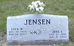 Lola W <i>Rogert</i> Jensen