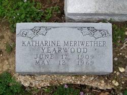 Katharine Meriwether Yearwood