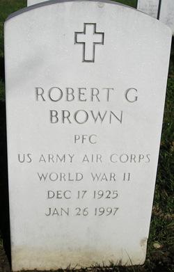 Robert G Brown