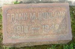 Franklin Merton Frank or Mickey Dunlavy