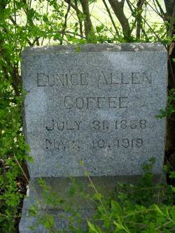 Eunice Margaret Amelia <i>Allen</i> Coffee