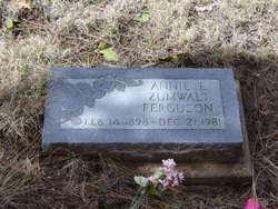 Annie E. <i>Zumwalt</i> Ferguson