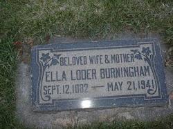 Ella <i>Loder</i> Burningham