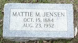 Mattie Mary <i>Stricklett</i> Jensen