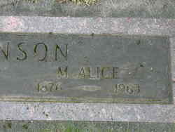 Mary Alice Hanson
