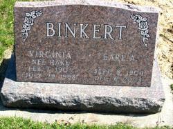 Virginia <i>Hake</i> Binkert